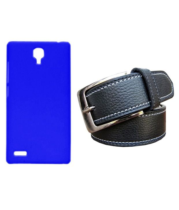 Winsome Deal Black Belt with Back Cover Case for Xiaomi Redmi Note
