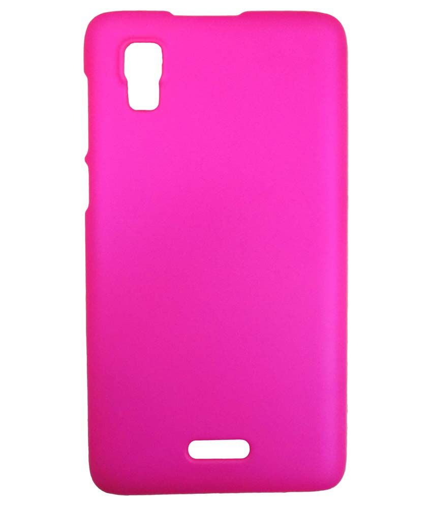 reputable site 8f3bd fb6df Accessories24x7 Back Cover For Micromax A102 Canvas Doodle 3 - Pink ...