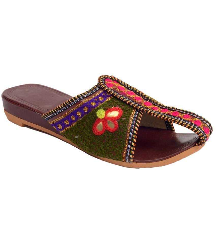 Alankrita Multicolor Ethnic Flats