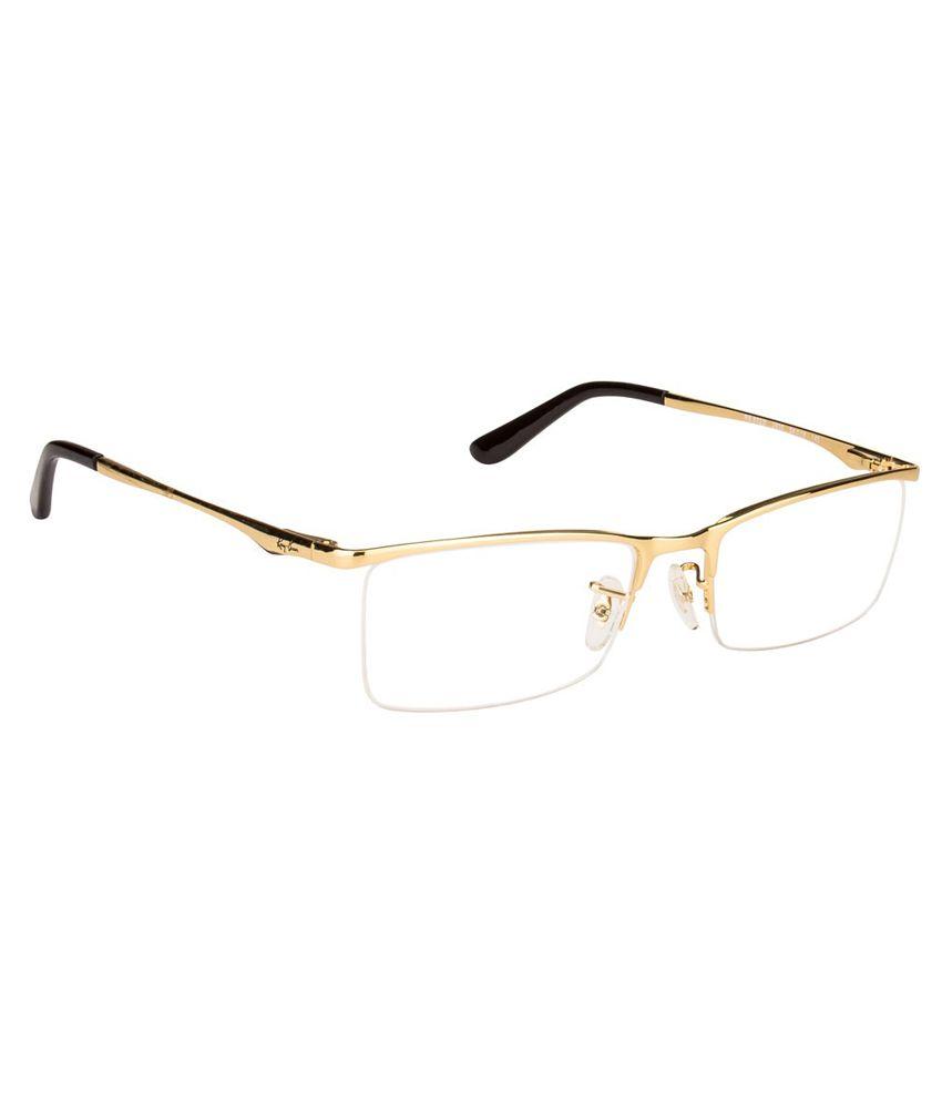 buy eyeglass frames online beex  Ray-Ban Golden Metal Eyeglasses Frame