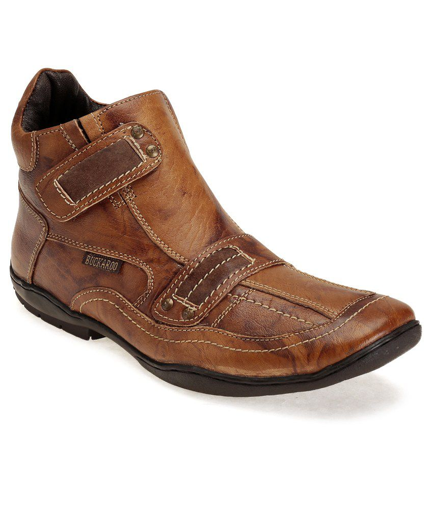 46cb05552a0 Buckaroo Evaska Tan Casual Shoes - Buy Buckaroo Evaska Tan Casual Shoes  Online at Best Prices in India on Snapdeal