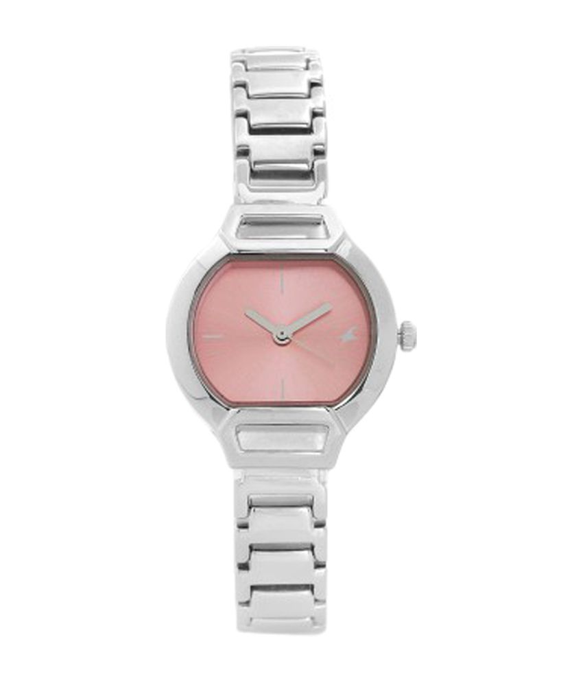 Fastrack Pink Dial Watch for Women