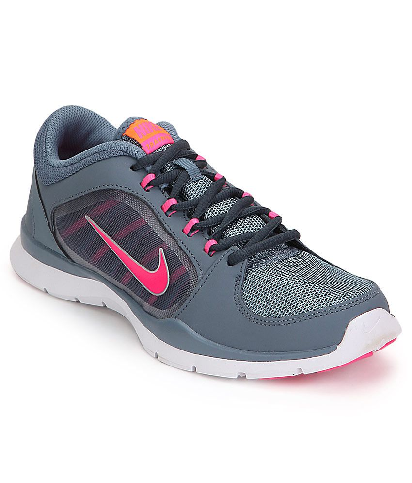 949c961847104 Nike Flex Trainer 4 Gray Sports Shoes Price in India- Buy Nike Flex Trainer  4 Gray Sports Shoes Online at Snapdeal