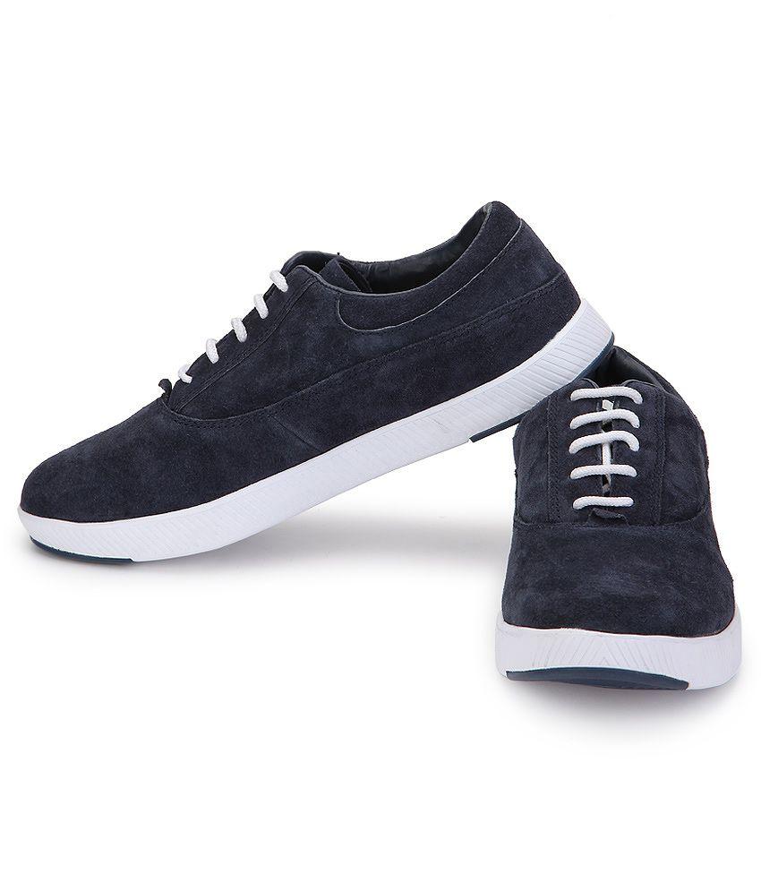 Spunk Geneva Navy Casual Shoes - Buy