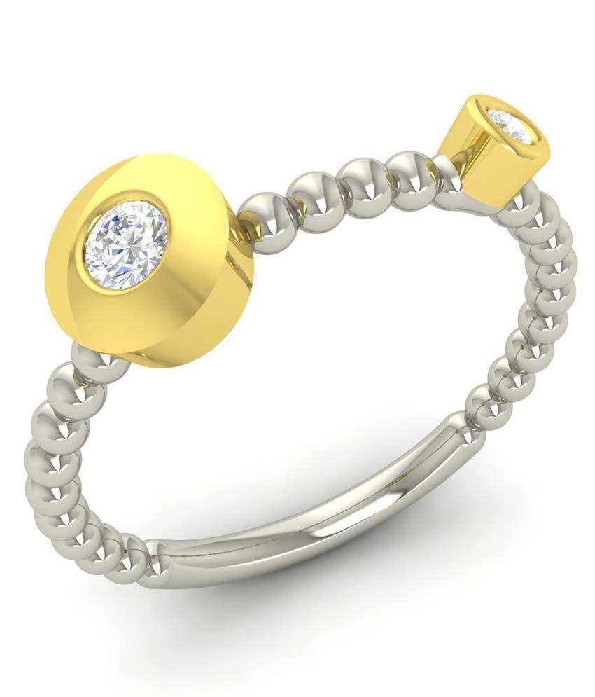 White Eros 18Kt White Gold Diamond Ring