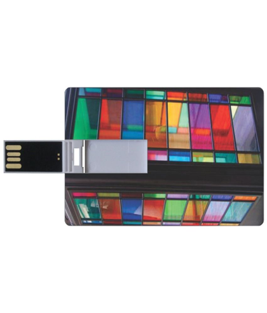 Printland One Way 8 GB Pen Drives Multicolor