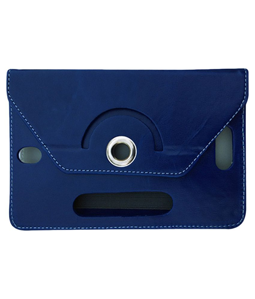 Fastway Flip Stand Cover For Alcatel One Touch Tab 7 - Blue