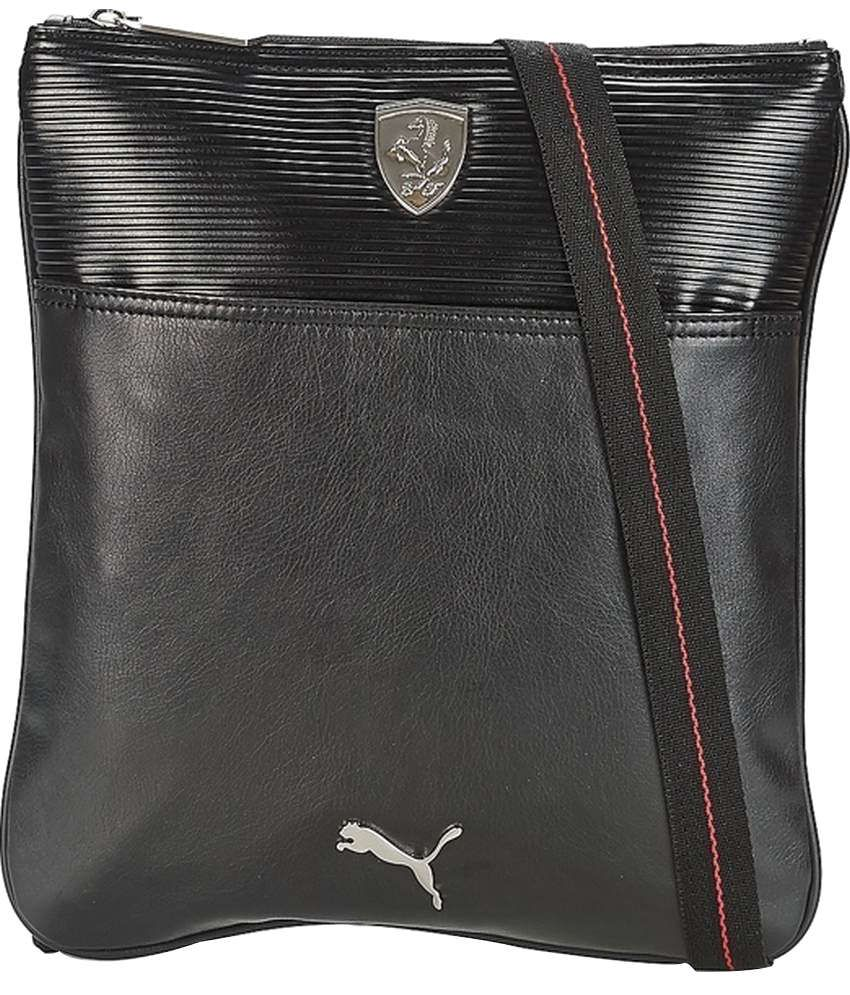 Puma Ferrari 7348901 Black Sling Bag - Buy Puma Ferrari 7348901 Black Sling  Bag Online at Low Price - Snapdeal 42f1b5447142e