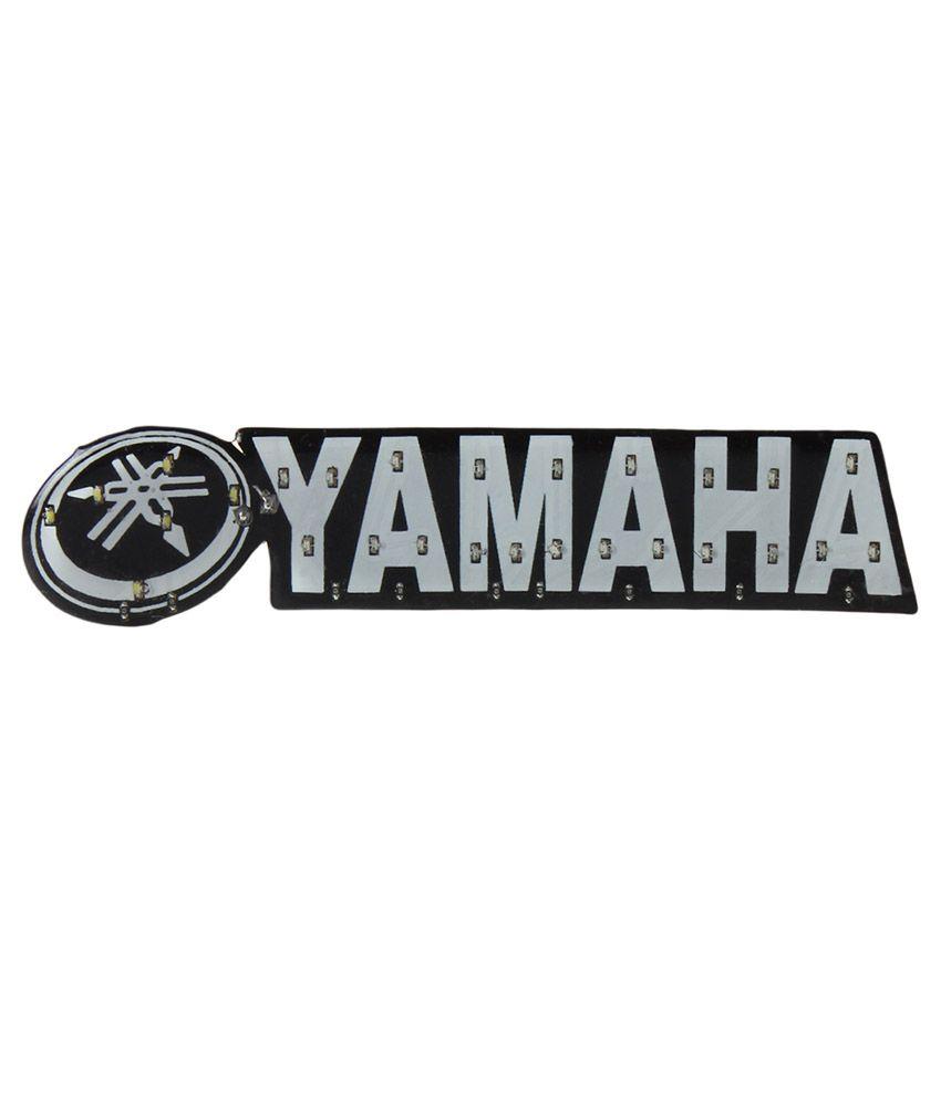 R.J.VON - Yamaha Logo Led Light For Bikes , Motocycle