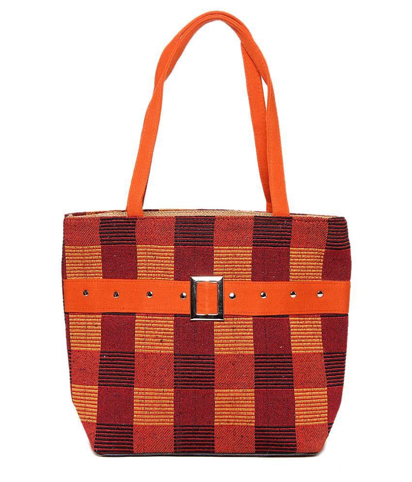 Ijay Fashion Orange Shoulder Bag