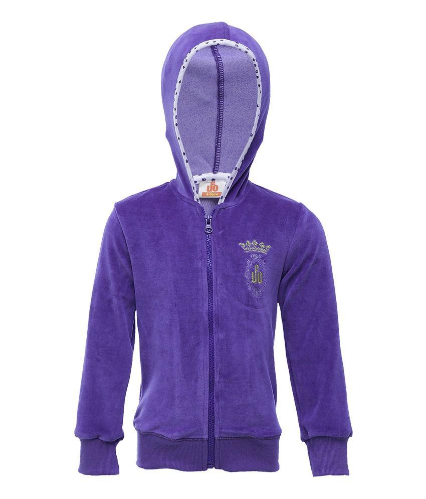 UFO Purple Full Sleeves Casual Jacket