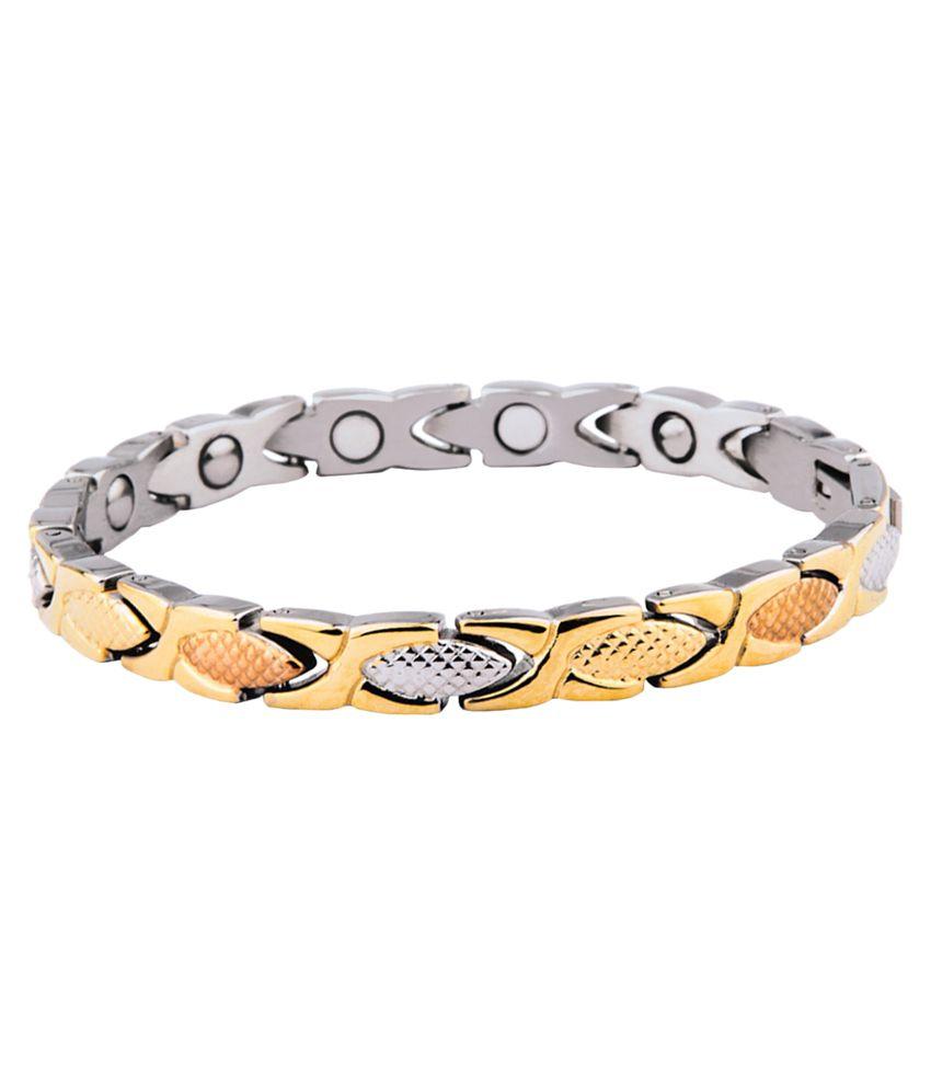 Aarogyam Energy Metal Magnetic Bracelet