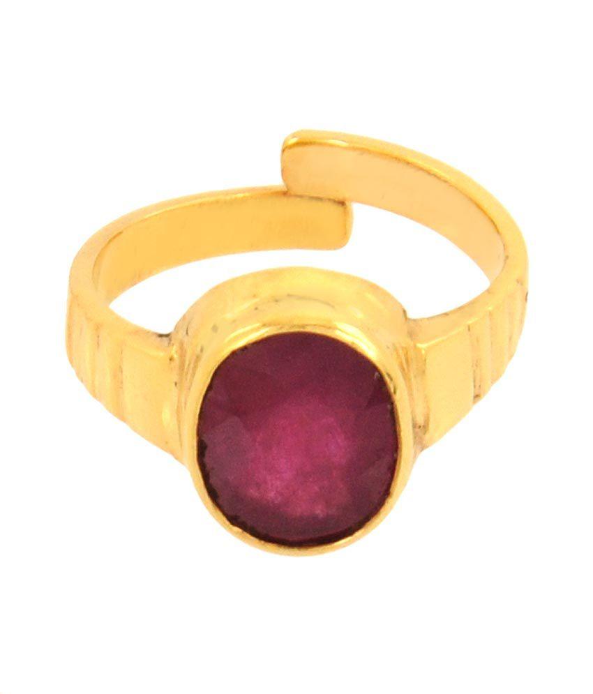 Avaatar 8.25 Ratti Ruby Gemstone Ring