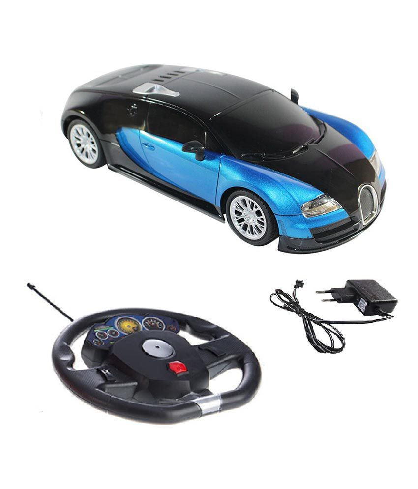 Fantasy India Fantasy India Rechargeable Gravity Sensor R/C Car With Steering Blue