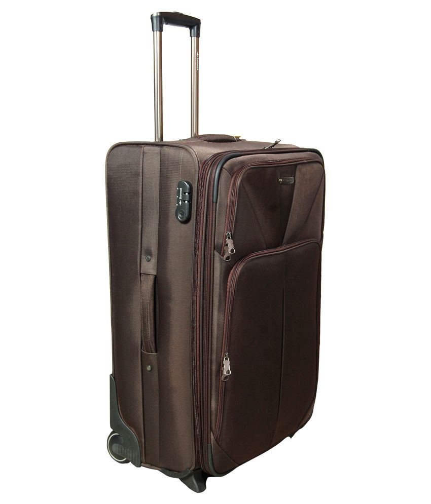 Sonnet Brown Polyester 2 Wheel Travel Bag - Buy Sonnet Brown ...