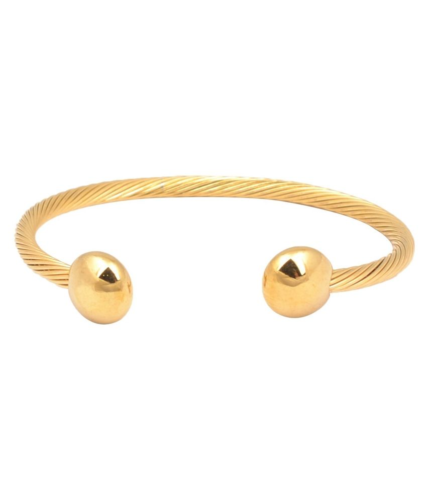 bracelet steel woman golden diamond men item titanium simplicity gold