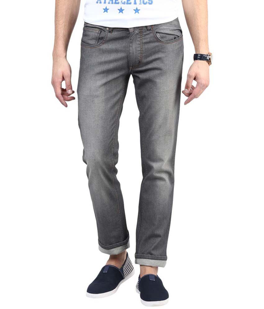 3concept Grey Slim Fit Jeans