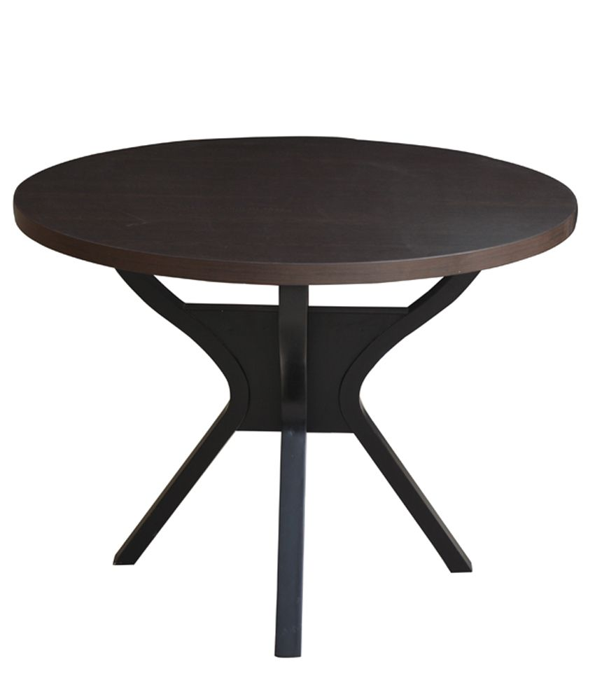 4 Seater Dining Table In Brown Buy 4 Seater Dining Table In Brown Online At Best Prices In