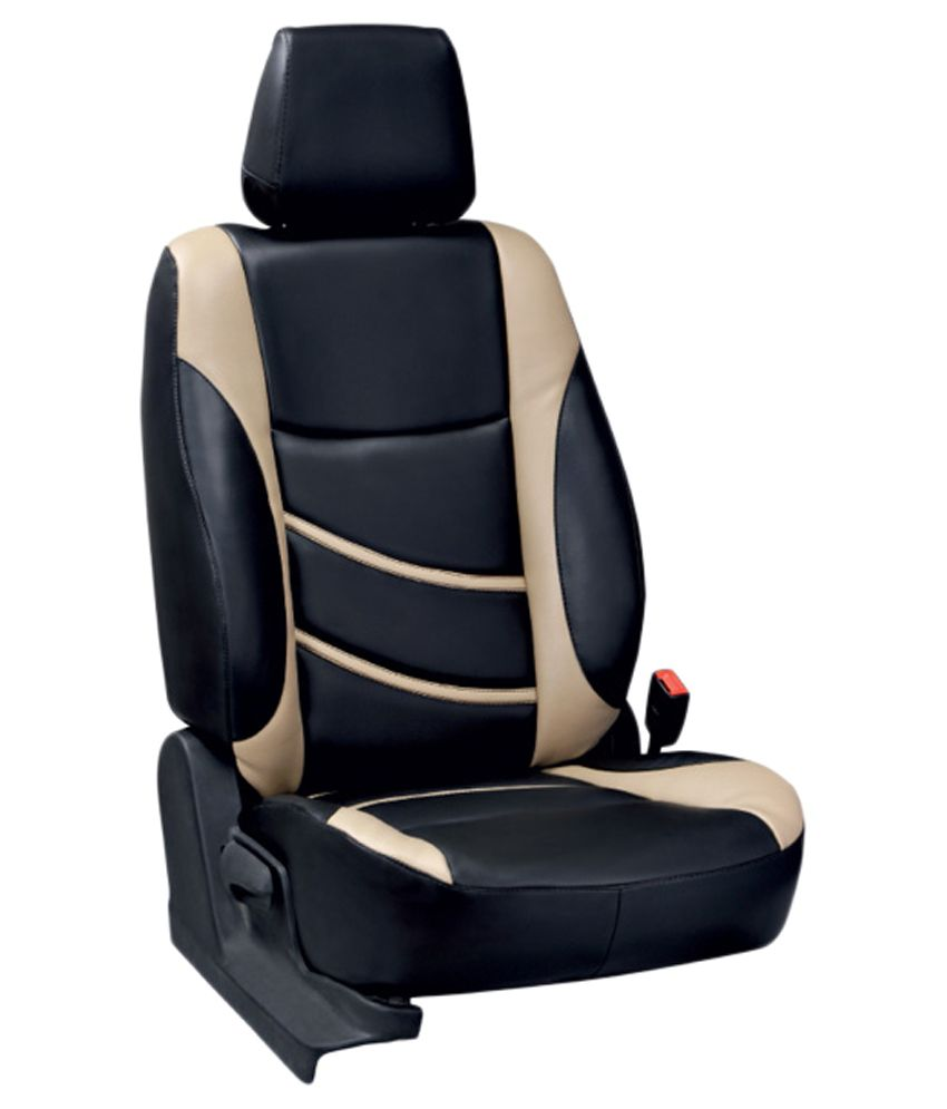 Elaxa Car Seat Covers For Maruti SX4 Black Buy Elaxa Car