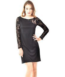 At 499 Black Polyester Dresses