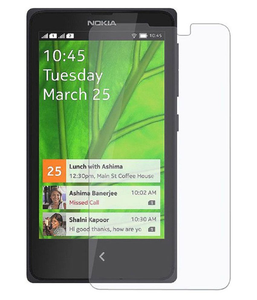 Nokia X Tempered Glass Screen Guard by Kolorfame