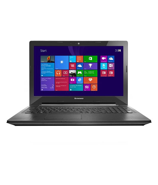Lenovo G50-30-80G001NTIN (Intel Pentium/4GB/500GB/39.62 cm (15.6)/WIN8.1 SL) BLACK