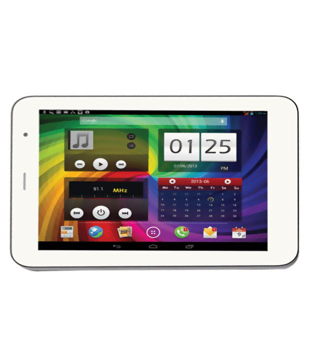 Micromax Canvas P650 Tab White
