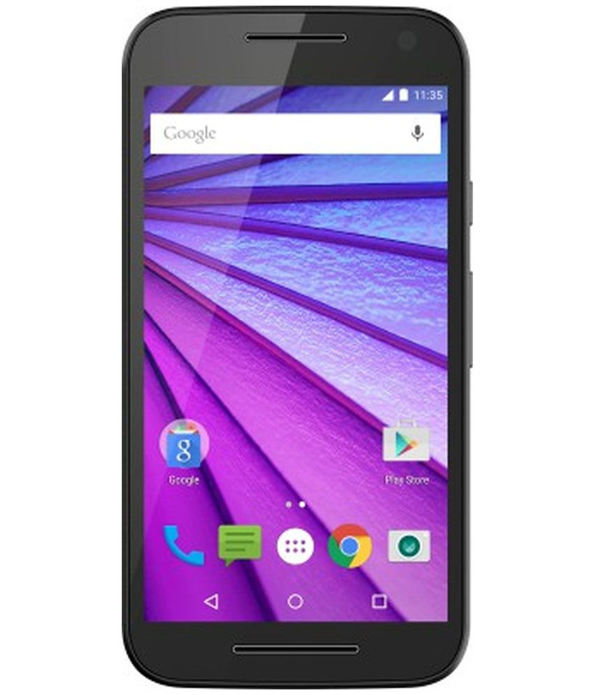 Motorola Moto G (3rd Generation) 16GB Black
