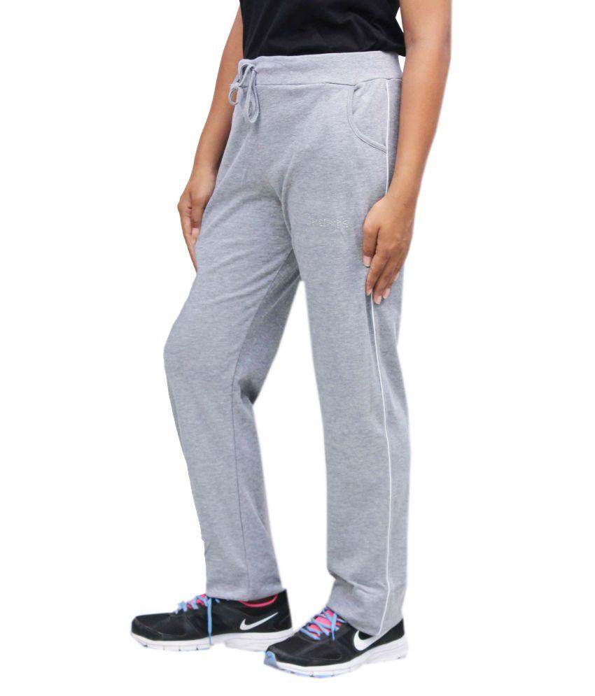 Romano Boys Hosiery Cotton Grey Track Pant