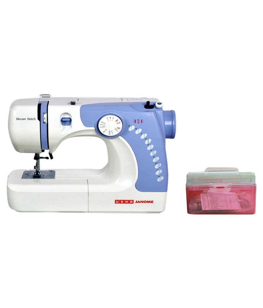 Usha Dream Stitch Sewing Machine (With Free Sewing Kit)