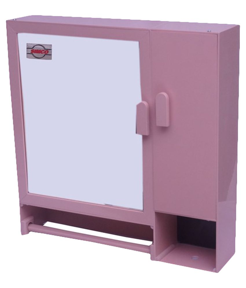 pink bathroom cabinet buy simco industries pink bathroom cabinet at low 24746