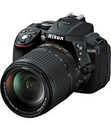 Nikon D5300 with AF-S 18mm-140mm VRLens , Memory card and Bag