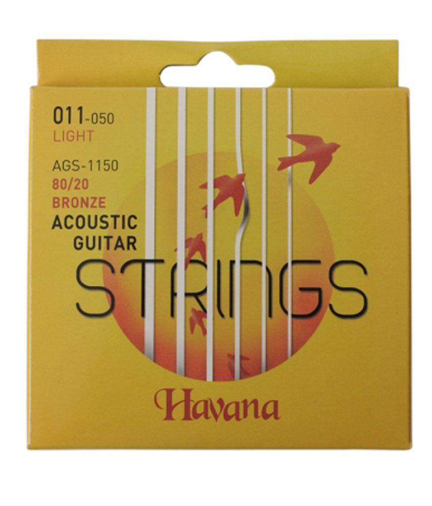 Havana Ags1150 Acoustic Guitar Strings
