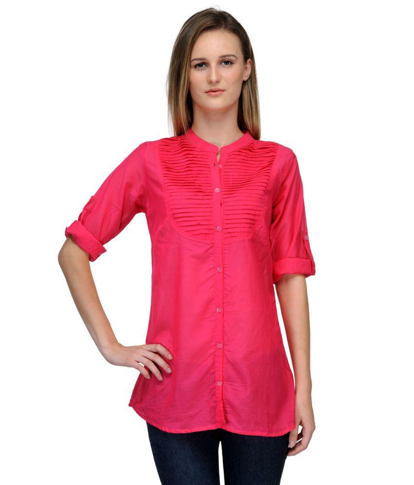 Kiosha Pink Blend Shirt