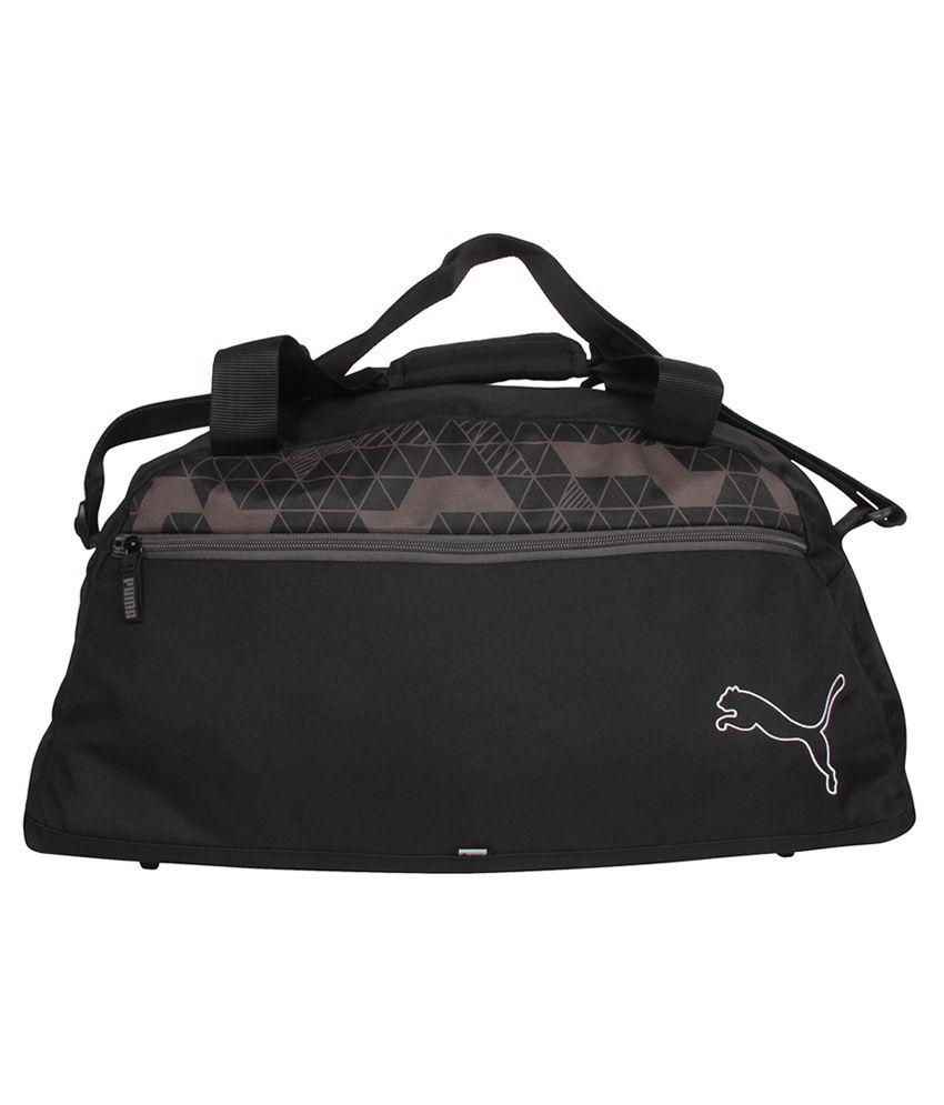 Puma Black Polyester Travel Bag - Buy Puma Black Polyester Travel Bag Online  at Low Price - Snapdeal 033a8e57ad94d