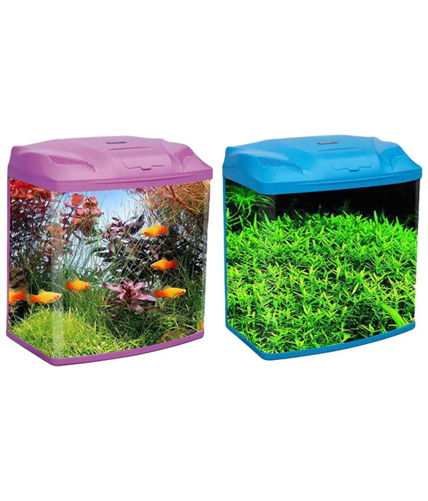 Fish for aquarium online - R S Electrical Pink Glass Fish Tank Top Cover With Free Led Light And Top Filter