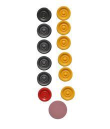 Claxon 4 In 1 Carrom Board With Ludo Board Game