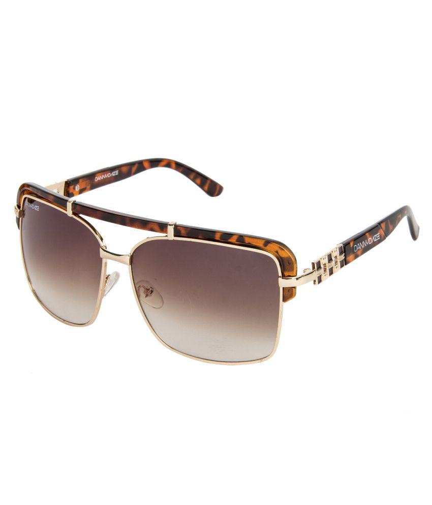 Danny Daze Brown Oversized Women Sunglasses