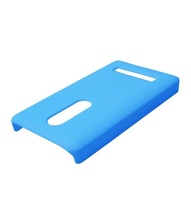 the best attitude a61de 48d7f Winsome Deal Blue Plastic Back Cover for Nokia Asha 210