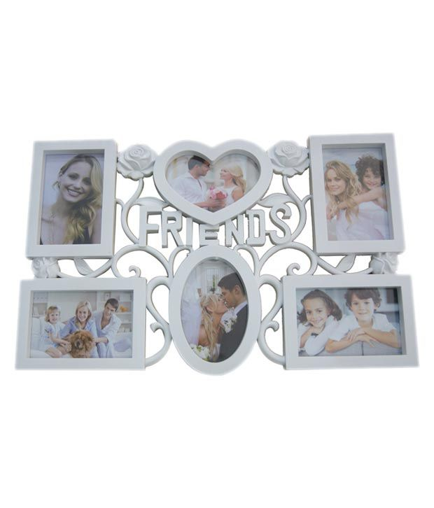 Imex Decorative Premium 6 Photos Collage Photo Frame (Photo Size ...