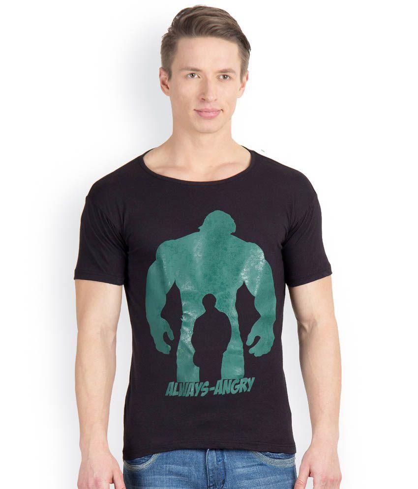 Incynk Multicolor Cotton T - Shirt