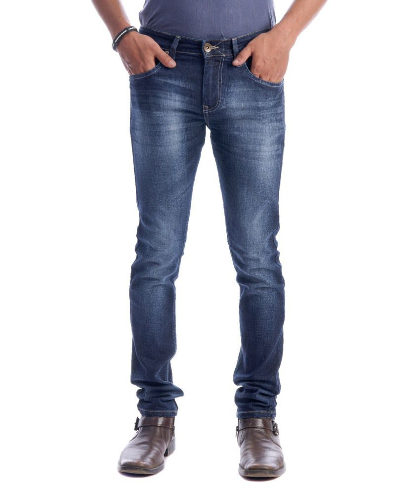 Kapuyt Blue Cotton Jeans