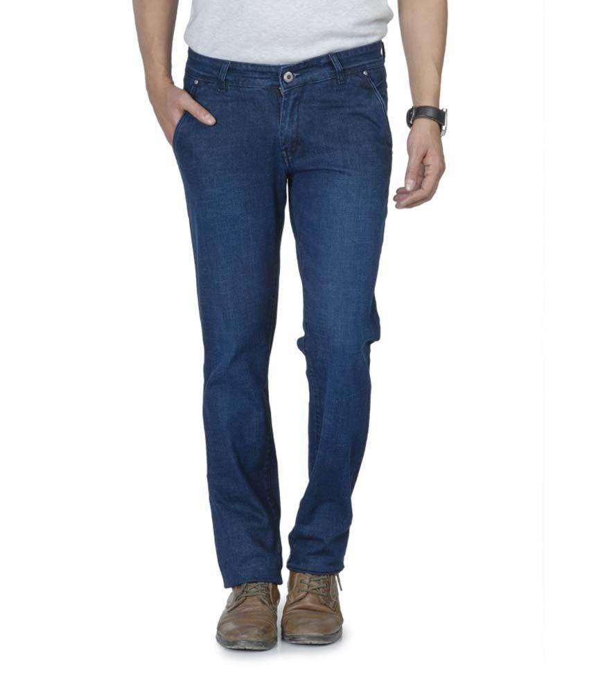 Wintage Blue Cotton Jeans