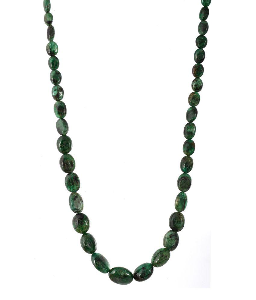 Be You Green Emerald 105 Ct Mala