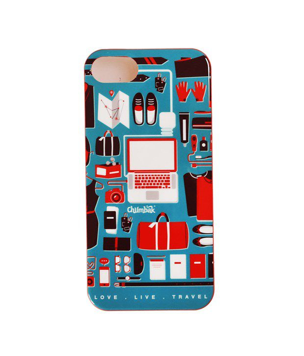 buy online 08423 eb475 Chumbak Multicolor Back Cover For Apple Iphone 5 - Printed Back ...