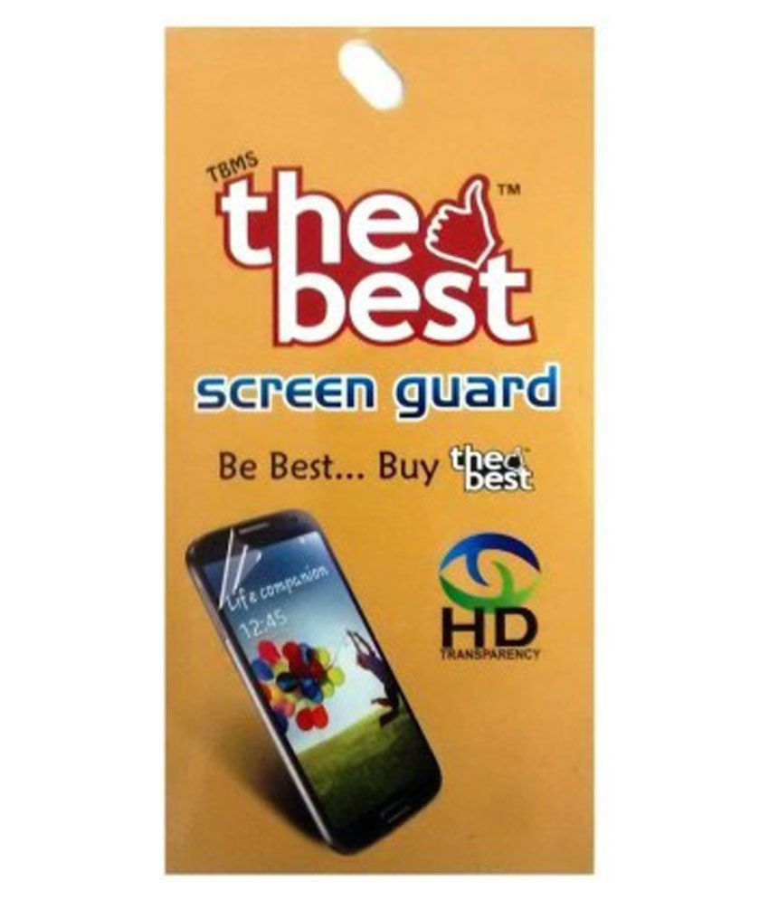 Karbonn S2 Titanium Clear Screen Guard by The Best