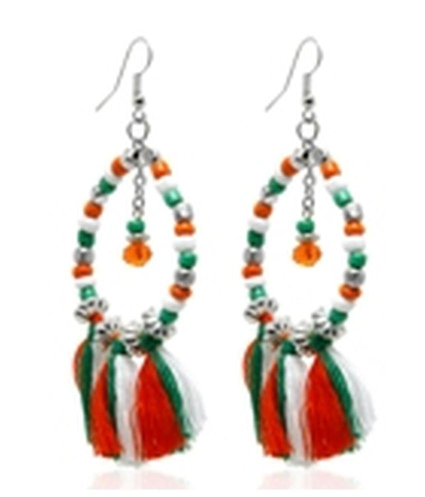 Zurii Alloy Designer Earrings
