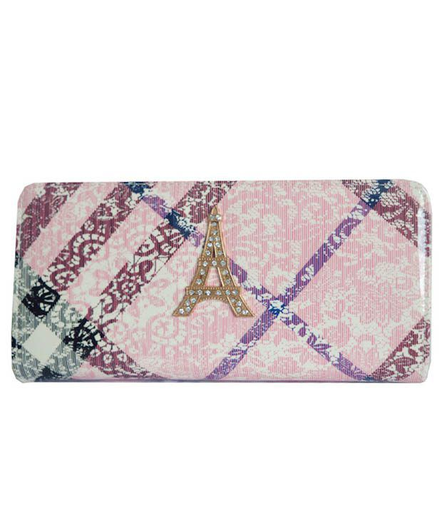 Wowdeal Multi-Colored Casual Wallet Clutch