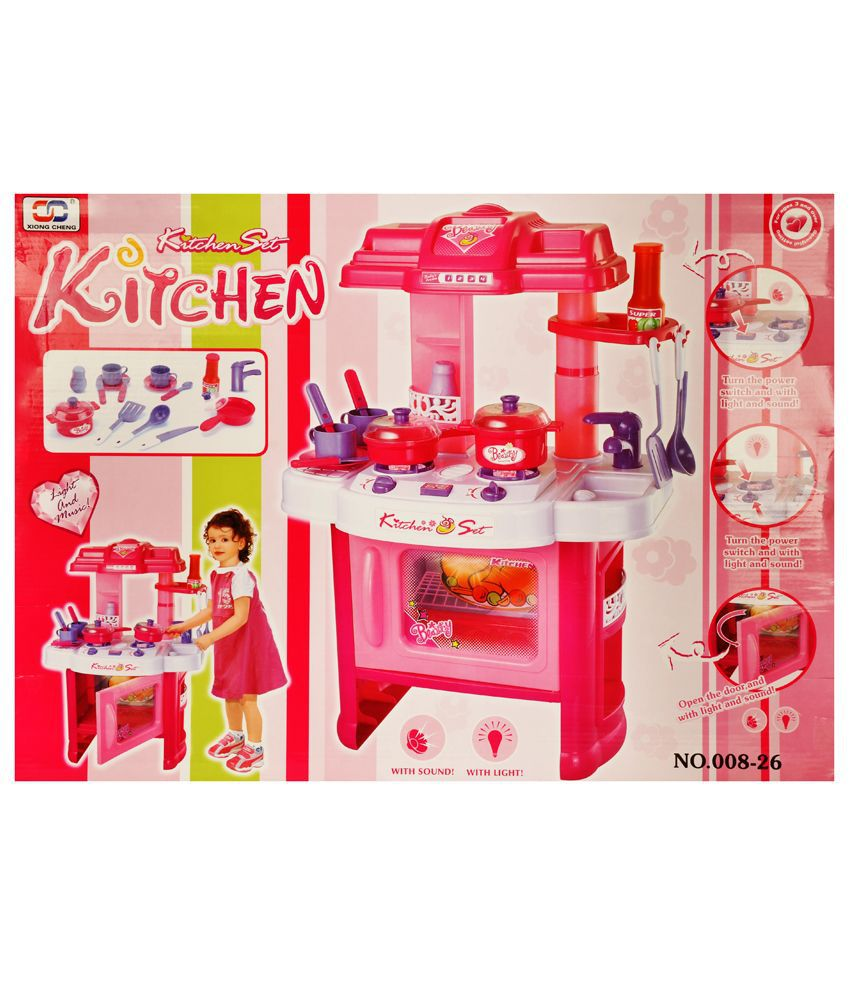 Kitchen Set Online: Zest4Toyz Kitchen Set For Girls