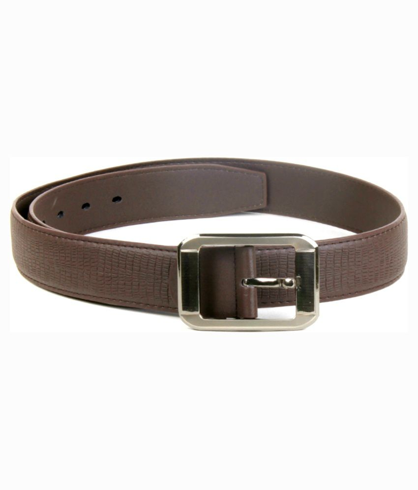 BMF Brown Leather Belt